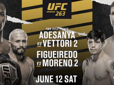 UFC 263 EN VIVO | Israel Adesanya vs. Marvin Vettori | AHORA | Canal de TV y Cartelera completa |