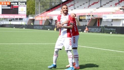 Sergio Peña fue el mejor del Emmen en la temporada 2020-21.