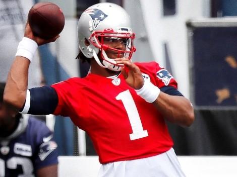 La mala suerte que arrastra Cam Newton en New England Patriots