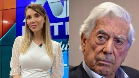 """""""Va con el chisme"""": Juliana Oxenford troleó a Mario Vargas Llosa por irse de boca"""