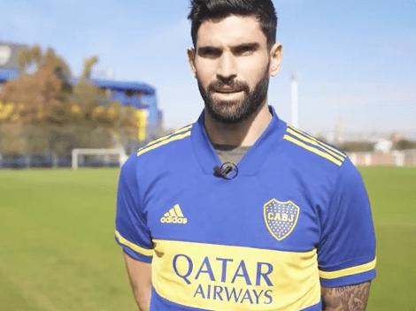 """Las primeras palabras de Orsini como jugador de Boca: """"Quiero lograr grandes cosas"""""""
