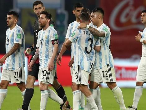 Solo a un jugador de la Selección Argentina le pegaron más que a Messi en las Eliminatorias
