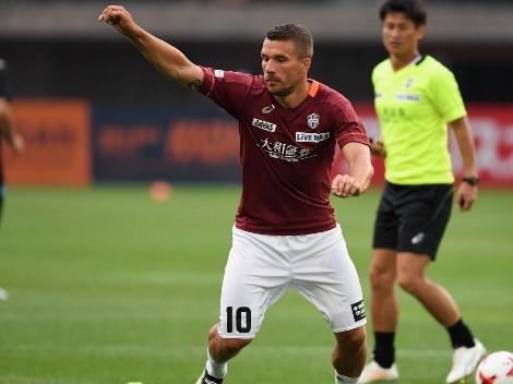 Querétaro tendría cerrado el fichaje de Lukas Podolski