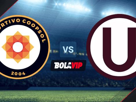 Qué canal transmite Deportivo Coopsol vs. Universitario por la Copa Bicentenario