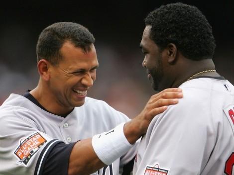Video: la reacción de David Ortiz cuando A-Rod lo intentó hacer de los Yankees
