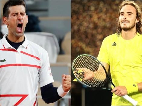 Novak Djokovic x Stefanos Tsitsipas: data, horário e canal para assistir AO VIVO à final do Roland Garros