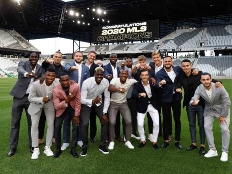 Seis meses después: Columbus Crew recibe anillos de campeón en MLS