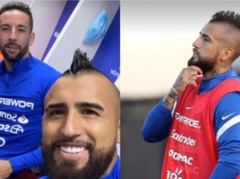 """El King regresa: Arturo Vidal está """"ready"""" para la Copa América"""