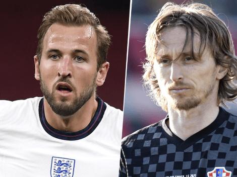 Cómo ver en Argentina el partido de Inglaterra vs. Croacia por la Euro 2020