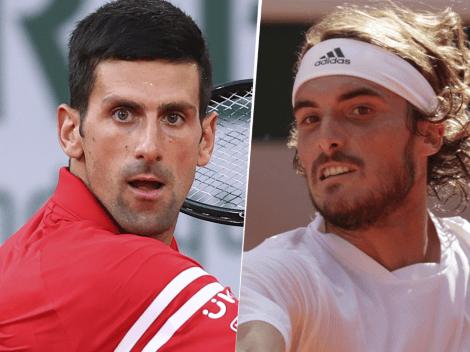Sigue EN VIVO ONLINE Novak Djokovic vs. Stefanos Tsitsipas   TV y Streaming para seguir EN DIRECTO el choque por el Roland Garros