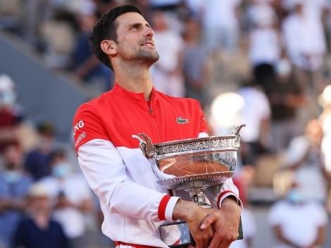 Novak Djokovic venció a Stefanos Tsitsipas y se coronó campeón en Roland Garros