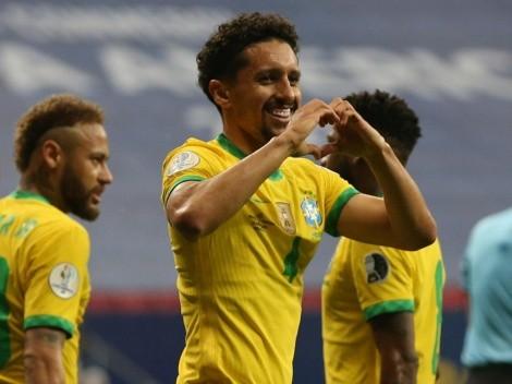 Video: Maquinhos coloca el primero de Brasil