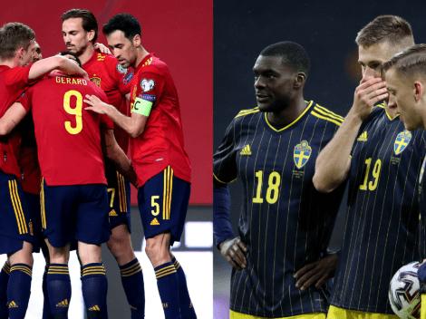 España vs. Suecia: Cómo ver EN VIVO en Chile el duelo por la Eurocopa