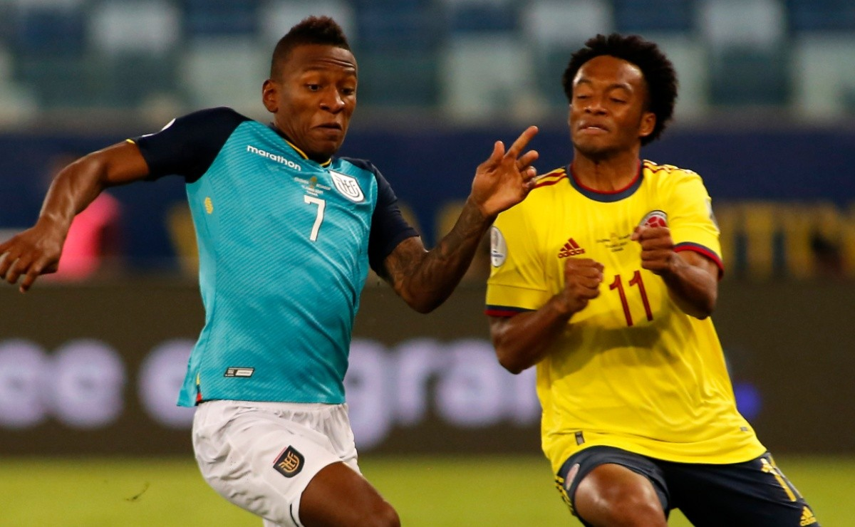 Colombia beat Ecuador 1-0: Highlights and goals from the Copa America 2021