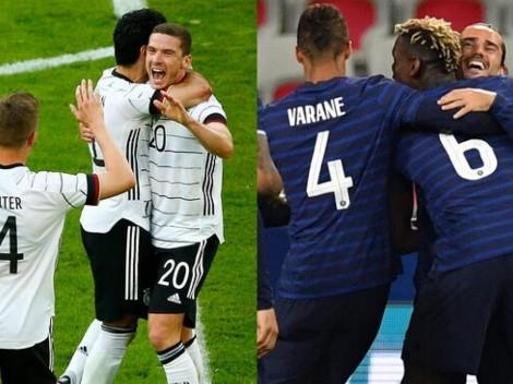 Francia vs. Alemania: Cómo ver EN VIVO en Chile el partidazo por la Eurocopa 2021