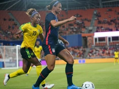 Y sigue el invicto: Estados Unidos golea a Jamaica camino a Tokio 2020