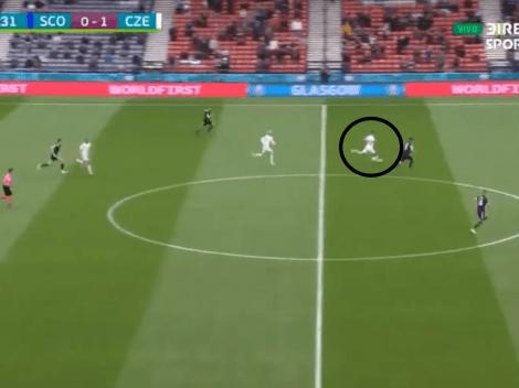 Video: Patrik Schick metió, desde la mitad de la cancha, el mejor gol de la Eurocopa
