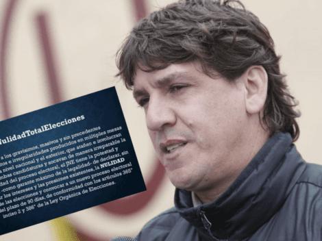 """""""Nulidad total de las Elecciones"""": Jean Ferrari hace insólito pedido en redes sociales"""