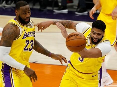 El plantel de Lakers para próxima temporada dependerá de LeBron y Davis