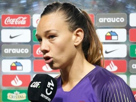Christiane Endler avisa que Chile saldrá a jugar de igual a igual ante Alemania