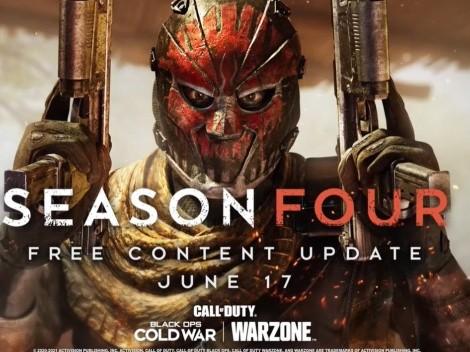 Fecha y Hora para la actualización de Temporada 4 en CoD: Warzone y Black Ops Cold War