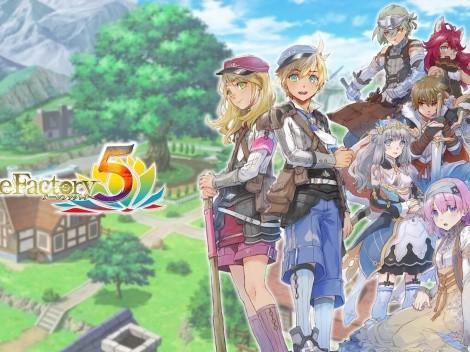 Rune Factory 5 é anunciado para Nintendo Switch