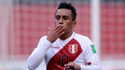 Christian Cueva was called up to guide Peru in the Copa America 2021 (Getty).