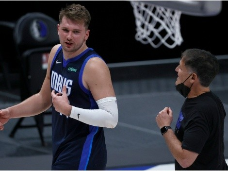 Mavs owner Mark Cuban clears the air on Luka Doncic's alleged desire to leave