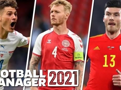 La Eurocopa crea un Top 10 de nuevos jugadores favoritos en el Football Manager 21