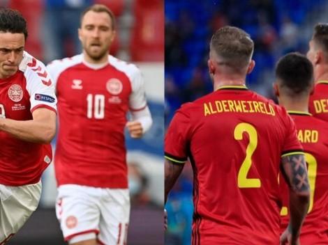 Dinamarca vs. Bélgica: Cómo ver EN VIVO en Chile la Fecha 2 de la Eurocopa