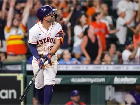 Vídeo: José Altuve silenció a Rangers y MLB a fuerza de poder