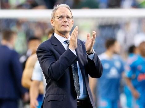 Silent hero: Brian Schmetzer, Seattle Sounders coach