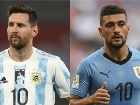 Argentina obtém a primeira vitória na Copa América: 1 a 0 sobre o Uruguai
