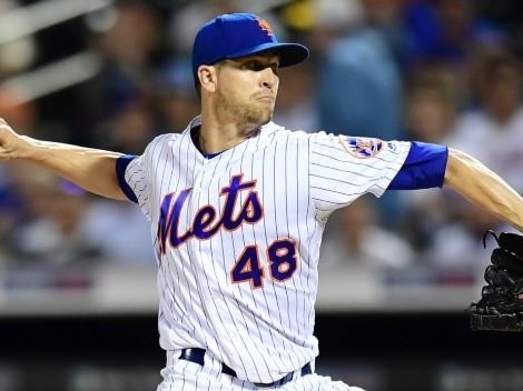 Jacob deGrom sale con molestias y se encienden las alarmas en los New York Mets