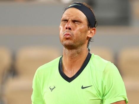 Rafael Nadal se bajó de Wimbledon y los Juegos Olímpicos de Tokio