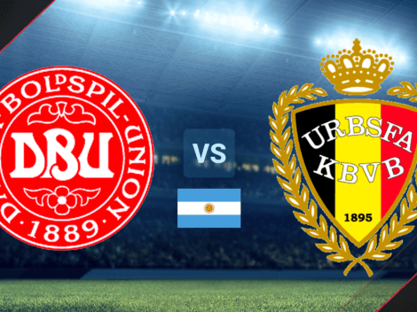 Cómo ver en Argentina el partido de Dinamarca vs. Bélgica por la Fecha 2 de la Eurocopa