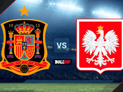 España vs. Polonia por la Eurocopa | HOY | Dónde VER el partido: horario, canales de TV y streaming
