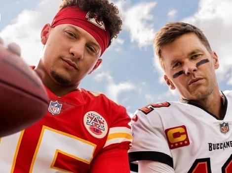 Tom Brady y Patrick Mahomes son la cara del nuevo Madden NFL 22