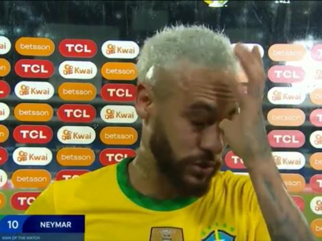 Video: Neymar se emocionó hablando de la Selección de Brasil