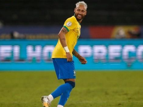 Video viral: Neymar sacó a bailar a toda la defensa de Perú
