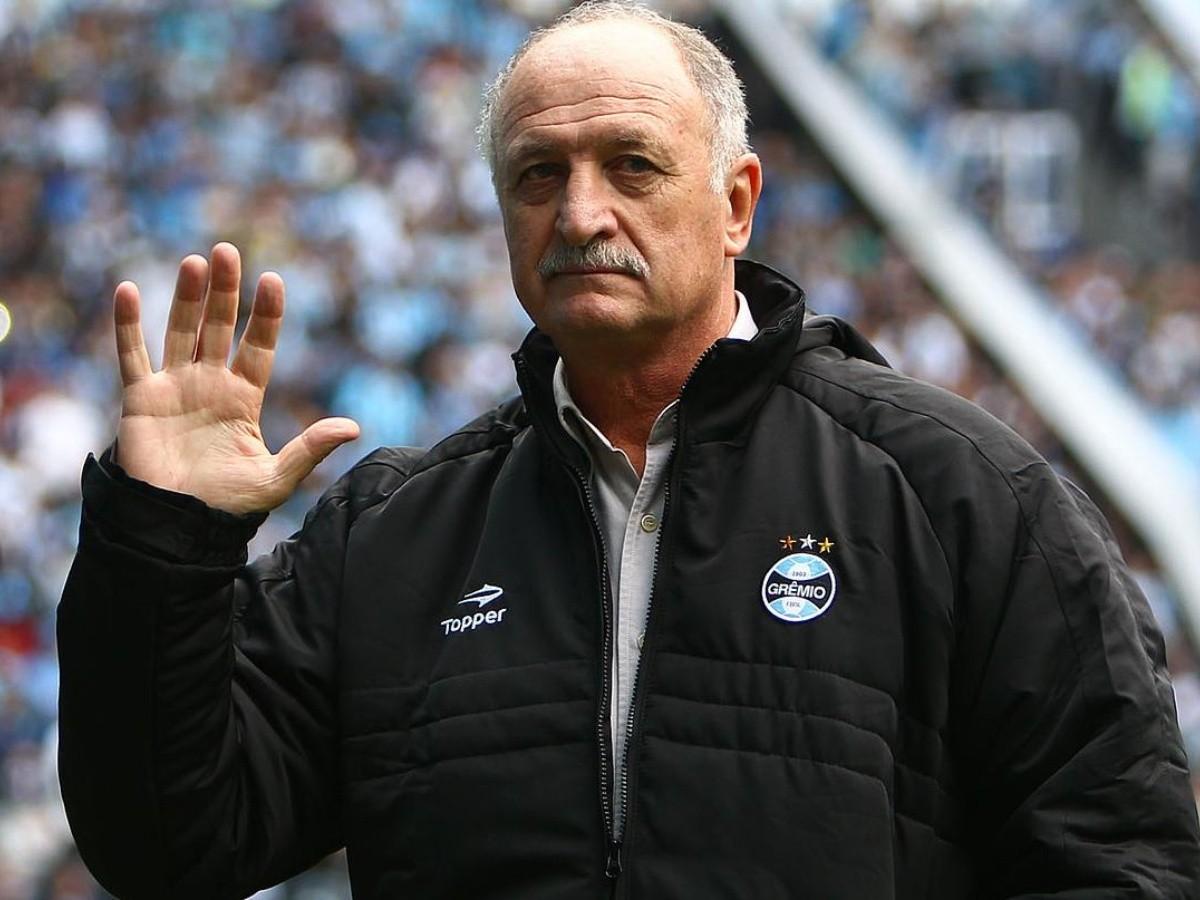 Torcida do Grêmio faz campanha pelo retorno de Felipão após nova derrota de Tiago Nunes | Bolavip Brasil