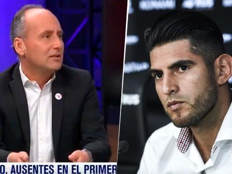 Zambrano no llegó a la pretemporada de Boca y en la TV argentina explotaron