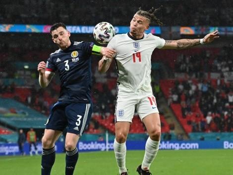 Clásico picante y empate entre Inglaterra y Escocia en Wembley