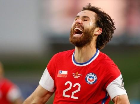 Ben Brereton abre el marcador para Chile