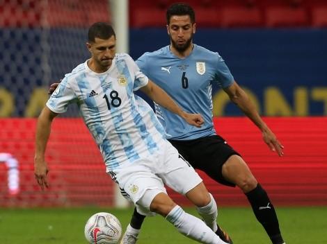 En números: el debut de Guido Rodríguez en la Copa América