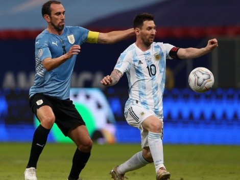 With an unstoppable Messi, Argentina win 1-0 over Uruguay: Goal and Highlights