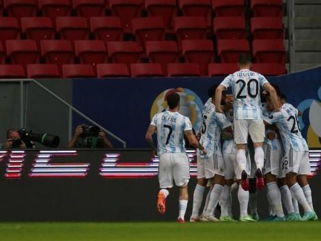 Argentina le ganó el clásico a Uruguay y sumó su primer triunfo en la Copa América