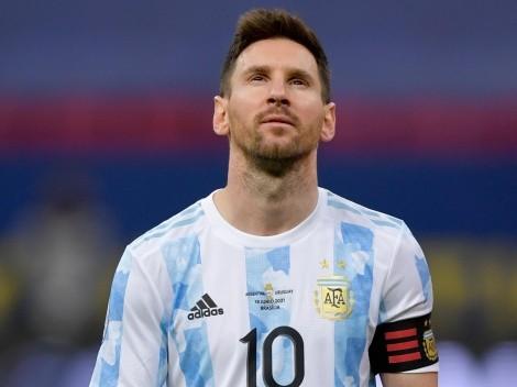 En calzoncillos y adentro del agua: el posteo de Messi más feliz que nunca por la victoria
