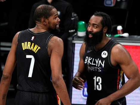 Los Nets, cerca de Finales: así les fue a Durant y Harden en famoso Juego 7