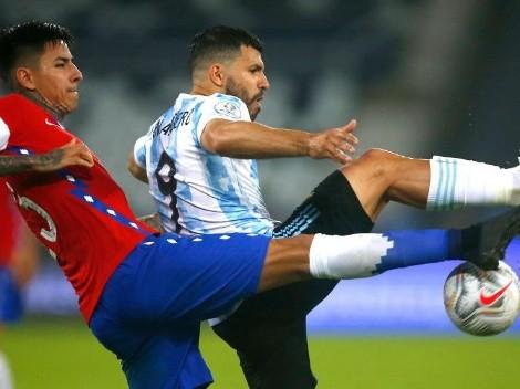 """El mensaje del Kun Agüero tras el partido de Argentina: """"A seguir creciendo"""""""
